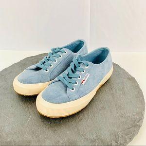 Superga w,ens sneakers size 6